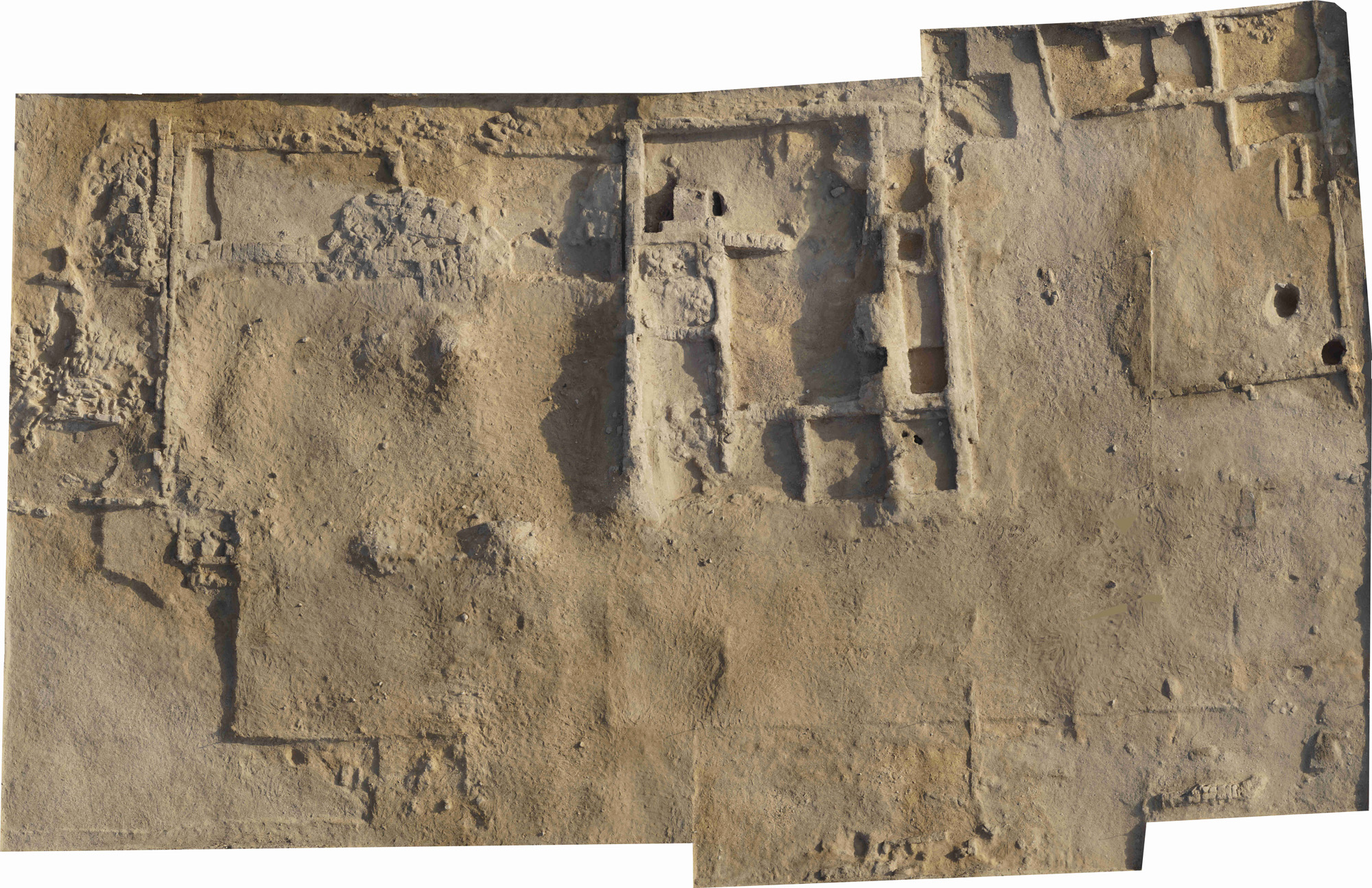 Aerial view of Amarna M50. © Anna Hodgkinson