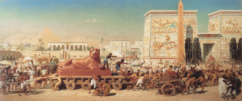 Israel in Egypt by Edward Poynter, 1867