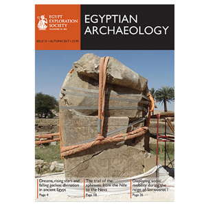 Egyptian Archaeology 51