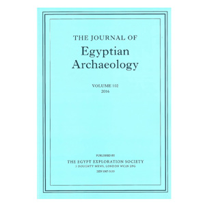 Journal of Egyptian Archaeology 102