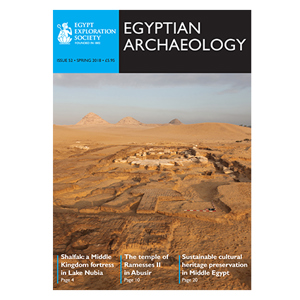 Egyptian Archaeology 52