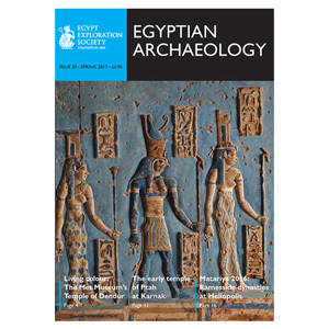 Egyptian Archaeology 50